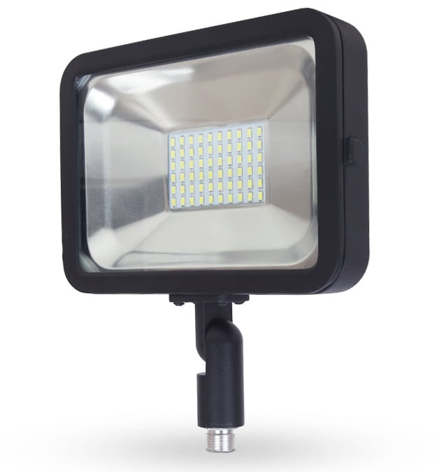 Compact Floodlight with Knuckle